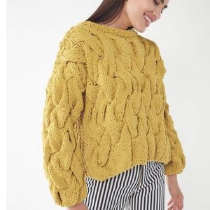 Urban Outfitters Cable Knit Pullover Sweater